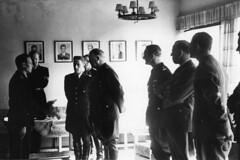 NSUF førermøte på Jessheim. (Riksarkivet (National Archives of Norway)) Tags: ns worldwarii secondworldwar quisling krigen vidkunquisling andreverdenskrig okkupasjonstiden