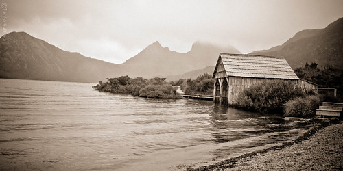 Boathouse at Dove Lake