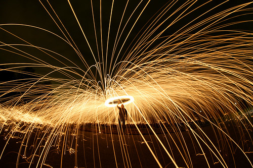 Steelwool Lightpainting