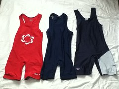 singlets (PinDoctor51) Tags: blue red women small singlets