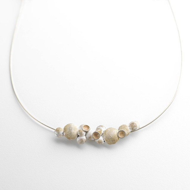 72 'Tumbling Wall' necklace by Merlin Planterose