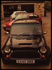 Classic Mini , Citroen Saxo & Peugeot 106 (Mac 2994) Tags: white black classic car austin sticker metro euro jet engine mini retro 106 le british morris limited lowered 1000 peugeot motorsport classicmini 1275 jetblack citreon mini1000 retrocar aseries 1293 998cc turbomini 1293cc britishminiclub pugsport uploaded:by=flickrmobile flickriosapp:filter=salamander salamanderfilter minijetblack classicminiengine