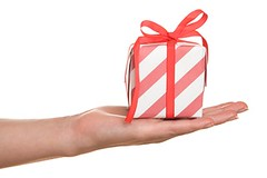 Giveaway (Thompson Coburn) Tags: birthday christmas xmas red holiday color love out rouge happy hand friendship box packing joy tie down case offer whitebackground gift giveaway bow surprise offering present ribbon packet studioshot treat amazement celebrate congratulation pleasure isolated hold goodwill packed donate keepsake caucasian douceur favour impart