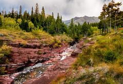 RED ROCK CANYON (bydamanti) Tags: redrockcanyon canada mountains canyon alberta rivers watertonnationalpark watertonpark wateroceanslakesriverscreeks nationalparksofcanada canyonsoftheworld