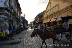 Vigan Philippines old town street view (6) (BohemianTraveler) Tags: old city horse heritage architecture island town site asia pacific district philippines colonial chinese unesco mexican spanish filipino sur vigan ilocos kalesa luzon calesa mestizo