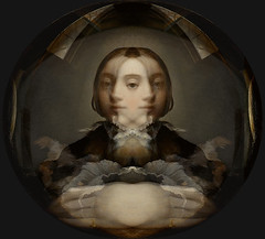 Self Portrait in a Convex Mirror - Parmigianino (Prince of the Blue Moon) Tags: world distortion selfportrait reflection art pool painting circle mirror image distorted narcissism surface universe understanding representation narcissus interpretation selflove introspection alberti mannerism parmigianino classicalmythology