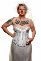 The Wayward Bride (Studio d'Xavier) Tags: portrait bride lgbt bridal equalrights marriageequality strobist thewaywardbride