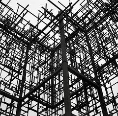 Ghost Structure, Portland (austin granger) Tags: sculpture abstract history industry film square portland 3d rust iron geometry steel memory cube publicart lattice phoenixironworks leadpencilstudio anniehan danielmihalyo ghoststructure gf670 austingranger inversionplusminus