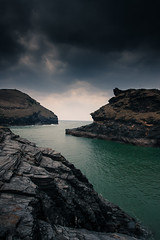 Entrance to Boscastle Harbour, Cornwall (GT Photographic) Tags: seascape cornwall harbour boscastle