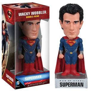 FUNKO WACKY WOBBLER 系列 Man of Steel 超人:鋼鐵英雄