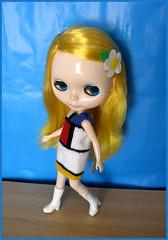 Margot in Mondrian