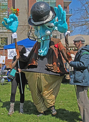 Large puppet (joybidge (back from vacation)) Tags: victoriabc earthday earthwalk naturepatternscanada trishcanada creativelyunitedfortheplanetfestival tsapril202013