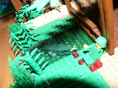 (Rebellenfreak) Tags: lego vietnam jungle soldiers usarmy vietnamwar willyjeep enemys