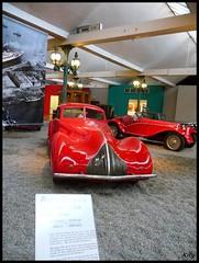 Alfa Roméo Coach 8C - 1936 (kity54) Tags: auto old red classic cars car 1936 rouge automobile cité voiture musée coche older ancienne ancien mulhouse italienne véhicule worldcars alfaroméocoach8c