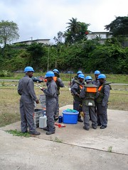 Expert Team - Cte d'Ivoire (UNEP Disasters & Conflicts) Tags: water pollution environment development ctedivoire unep sampling naturalresources environmentalassessment unitednationsenvironmentprogramme unepmission