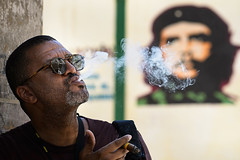 George taking a break in Cuba (mapaolini) Tags: michael paolini