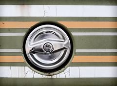 Gas Cap (jayvan) Tags: vw rust weathered decal van gascap sonya77