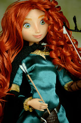 Merida, Disney store, 2012 (Lenekie) Tags: toy store doll disney merida