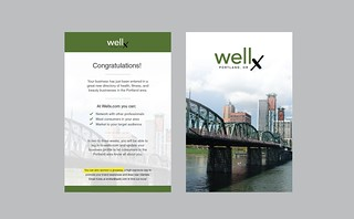 Wellx Portland, OR - Postcard