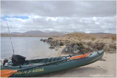 Kayak fishing wilderness (Nicolas Valentin) Tags: scotland scenery kayak highland wilderness peche ecosse troutfishing onthefly lochba nicolasvalentin pecheenkayak hookedonscotland