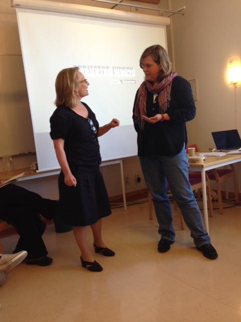 Karin Bojs interviews Anna Broström