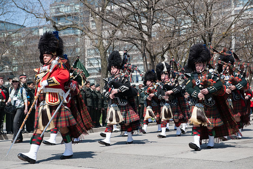 48th Highlanders Pipes and Drums
