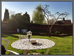 Chillaxin in the garden (UK_Greg) Tags: garden relax wine sunny chill hdr appleton iphone chillax iphone5 prohdr ukgreg uploaded:by=flickrmobile flickriosapp:filter=nofilter