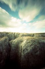 Malham Cove (John Grey) Tags: pinhole limestone malham yorkshiredales limestonepavement malhamcove 400h johngrey epson4990gimp