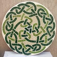 Mandala em Mosaico (Mimosaicos) Tags: arquitetura design arte amor mosaic artesanato mimo mosaico mandala casamento decoração união