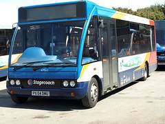 Stagecoach North West Optare Solo 47060 PX04 DMU now in Cumbria (nsf323) Tags: stagecoachnorthwest fleetwoodoutstation