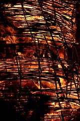Wicker man (treehouse1977) Tags: wood fire flames may hampshire burning bonfire beltane beltain wickerman chalton butserancientfarm