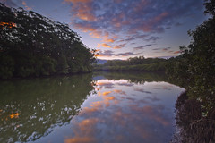 Coffs Creek Sunset (Falke in Ozz) Tags: sunset creek harbour australia nsw eastern coffs