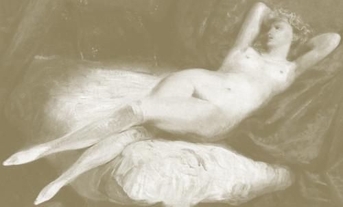 "Majas, homenajes de Francisco de Goya y Lucientes (1802), Eugéne Delacroix (1826), Amadeo Modigliani (1916), Pablo Picasso (1906), (1931), (1959), (1964). • <a style=""font-size:0.8em;"" href=""http://www.flickr.com/photos/30735181@N00/8747968196/"" target=""_blank"">View on Flickr</a>"