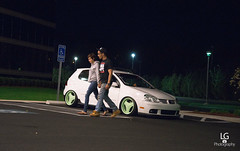 (LGphotographyy) Tags: white rabbit love vw last gold nikon photographer arms euro mint scene headlights wv bumper poke rig rims lowered horsey tuck mkv 3piece 3spoke canibeat loweredlifestyle