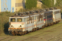 20130502 063 Epernay. 16706, 16646, 16050 (15038) Tags: france electric trains locomotive railways epernay sncf 16646 16706 bb16500