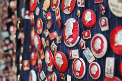 mao (jackyczj) Tags: china many badge mao leader insignia chairman chairmanmao
