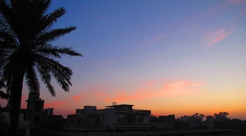 Hathras sunset