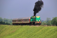 SM48-127 (2) by Krzysztof D. - Railway - the most environment-friendly means of transportation ;)