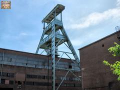 Herten - Zeche Ewald_5193_2013-06-02 (linie305) Tags: germany deutschland mine architektur coal förderturm industrie ruhrgebiet zeche coalmine duitsland ewald ruhrarea herten industriekultur bergwerk kolenmijn minedecharbon régiondelaruhr
