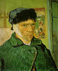 VanGogh-self-portrait-with_bandaged_ear (Carlos Cesar Alvarez) Tags: arte vangogh pintura