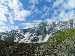 Trek to Beas kund (Sougata2013) Tags: mountain lake glacier manali beas solangvalley beaskundtrek