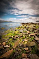 Green and Blue (MBDGE) Tags: uk longexposure blue portrait green clouds outdoors scotland orkney colours alba stones shoreline le slime stromness scapaflow neutraldensity canon70d