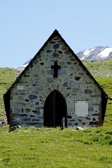 Colle del Piccolo SanBernardo (_Kry_) Tags: church mountain alps highaltitude colourful chiesa cappella alpi highlight