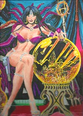 morgana (regina11163) Tags: morganalefay sexywitch blackmagic cartoon artreproduction fantasy