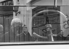 Self portrait (carlos_ar2000) Tags: auto street selfportrait me argentina car calle buenosaires photographer yo reflected reflejo autorretrato santelmo fotografo i refection