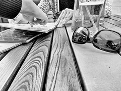 13/365 -  choice (eggii) Tags: project 365 bw mono restaurant street lodz