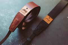 personalized camera straps (J K E Y P H O T O G R A P H Y) Tags: camera strap camerastrap leather personalized vintage gear photography jkey jkeyphotography straps
