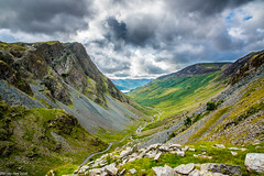 Honister Pass! (dazzbo1) Tags: honister pass lake district lakes cumbria view valley mine slate river road buttermere rock sky cloud formation atmosphere magnificent beautiful