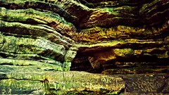 rock of ages...(HSS) (BillsExplorations) Tags: engraving names carvings sandstone rock dells mathiessenstatepark illinois illinoisstateparks illinoisdeptofnaturalresources gorge hiking trails sliderssunday hss