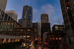 Financial District (marq4porsche) Tags: san francisco california united states night skyline city urban cityscape street architecture building buildings sf evening color light lights canon eos 6d ef 1635mm f4 lens
